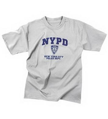 Triko NYPD ŠEDÉ