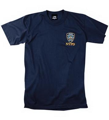 Triko NYPD NÁMOØNICKÁ MODRÁ