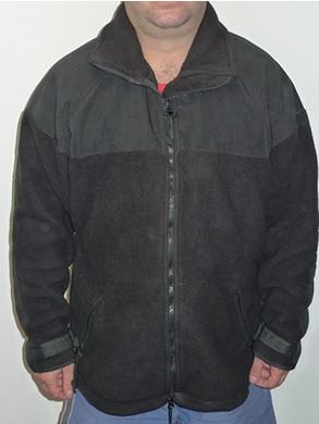 Mikina fleece POLARTEC ÈERNÁ použitá vel. M