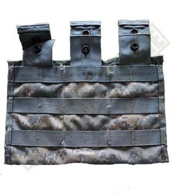 Sumka MOLLE II pro zásobníky 3x M4 ACU použitá