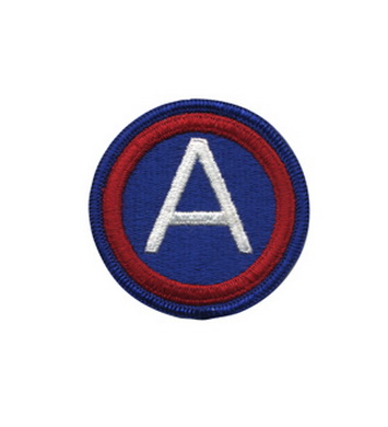Nášivka 3RD ARMY