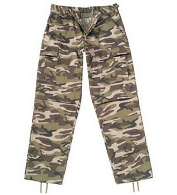 Kalhoty BDU ULTRA FORCE RETRO CAMO
