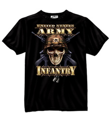 Triko US ARMY INFANTRY �ERN�