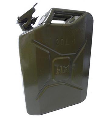 Kanystr AÈR 20l plechový použitý