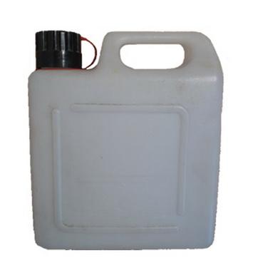 Kanystr plastový bílý 5l