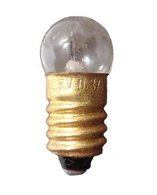 Žárovka SMII-318 náhradní k svítilnì 2,5V - 0,3A