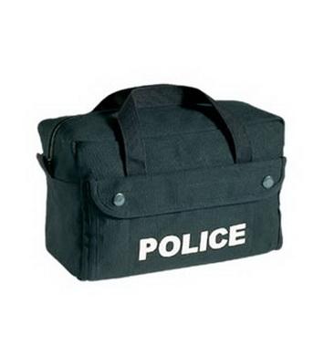 Taška s policejním logem ÈERNÁ