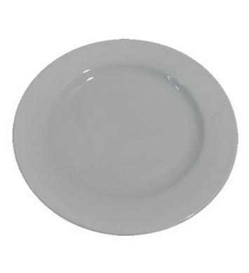 Talíø AÈR velký mìlký BÍLÝ porcelán