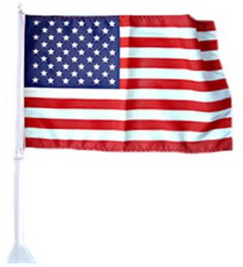 Vlajka na auto USA