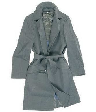 Kabát BW HERR armádní ŠEDÝ