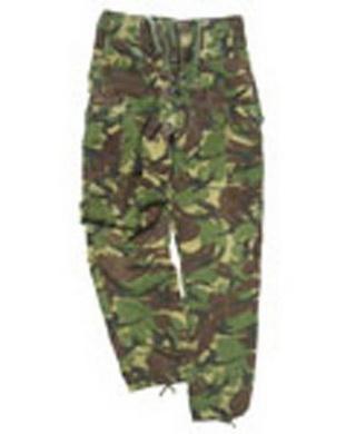 Kalhoty britské TROPIC polní DPM TARN použité (pas do 80cm)