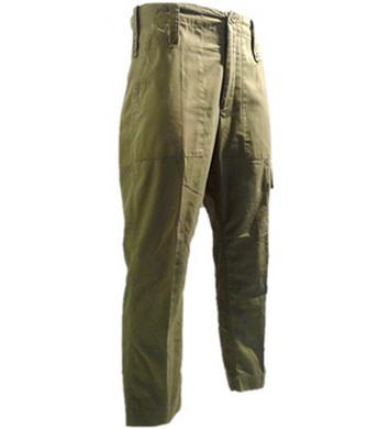 Kalhoty britské polní OLIV použité