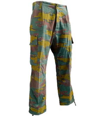 Kalhoty BELGICK� komando maskovan� pou�it� BELGIE TARN (pas do 85cm)