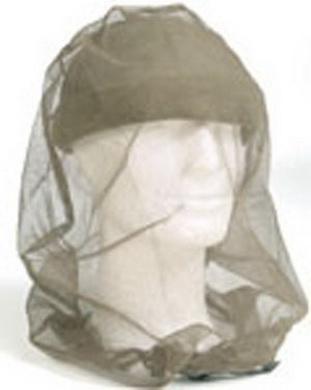 Moskytiéra BW na hlavu ŠEDÁ použitá