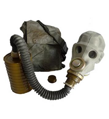 Maska plynová ruská PRWU s obalem