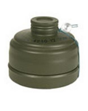 Filtr do plynové masky BW použitý
