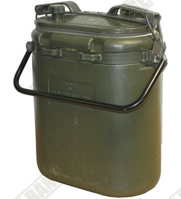 Termo BOX ŠVÉDSKÝ plastový OLIV 13l použitý