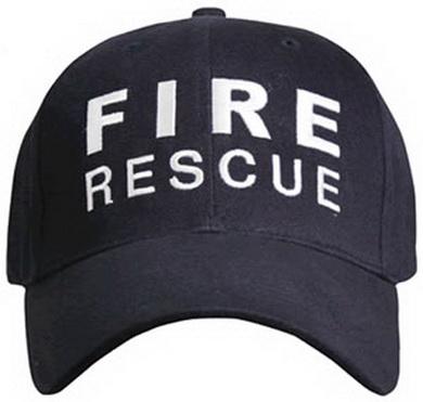 Èepice BASEBALL FIRE RESCUE MODRÁ - zvìtšit obrázek