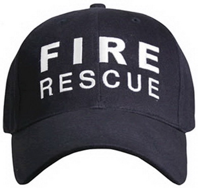 Èepice BASEBALL FIRE RESCUE MODRÁ