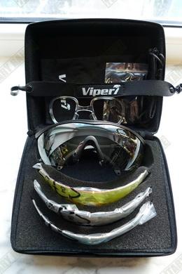 Sada taktických brýlí s pøíslušenstvím Viper