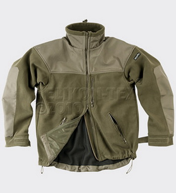 Bunda CLASSIC ARMY fleece OLIV