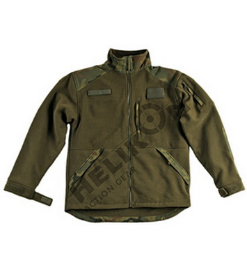 Bunda INFANTRY fleece OLIVE - WOODLAND POLSKÝ