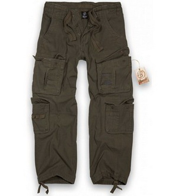 Kalhoty Brandit PURE vintage ZELENÉ