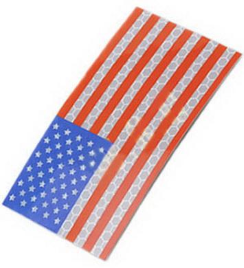 Nášivka velcro US vlajka barevná IFF King Arms