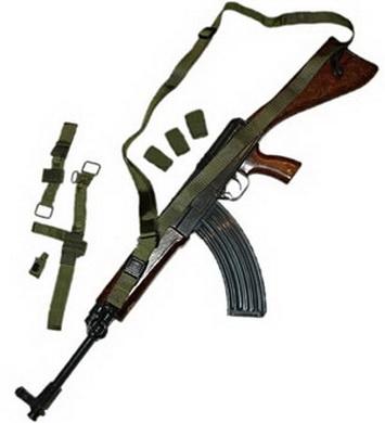 Popruh zbraòový QD 3-bodový taktický OLIV King Arms