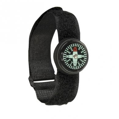 Kompas 360 na hodink. pásek pogumovaný ÈERNÝ