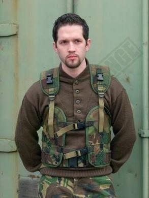 Taktická vesta holandská použitá