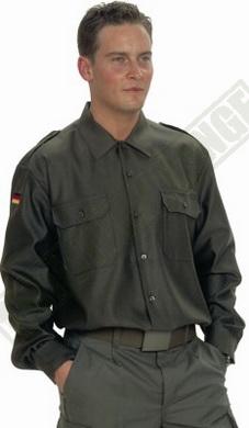 Košile BW polní OLIV použitá