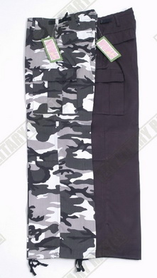 Kalhoty US BDU dámské - èerné