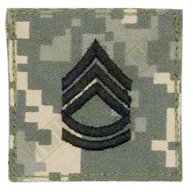 Hodnostní oznaèení Sergeant 1st Class