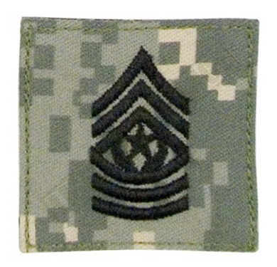 Hodnostní oznaèení Command Sergeant Major