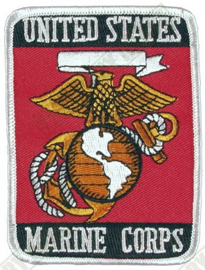 Nášivka U.S. Marine Corps