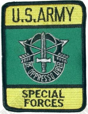 Nášivka U.S. ARMY SPECIAL FORCES