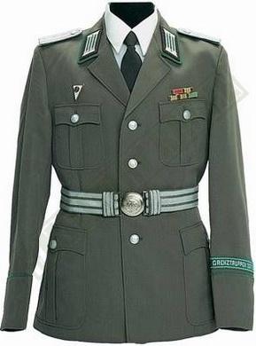 Blùza dùstojnické uniformy NVA