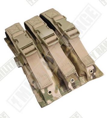 Sumka MOLLE trojitá na zásobníky MP5