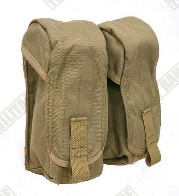 Sumka MOLLE pro zásobníky AK Coyote Brown Pantac
