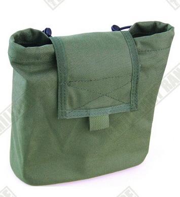 Sumka MOLLE compact na prázdné zásobníky zelená Pantac