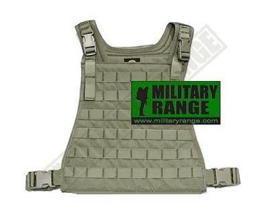 Nosiè plátù MBSS Low profile Ranger Green Pantac