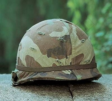 Potah na helmu US woodland