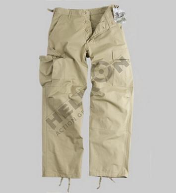 Kalhoty BDU RipStop BEŽOVÉ