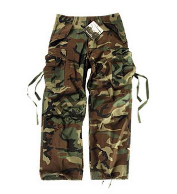 Kalhoty M65 WOODLAND