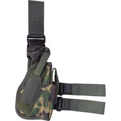 Pouzdro na pistol TACTICAL stehenní DPM DIGITAL