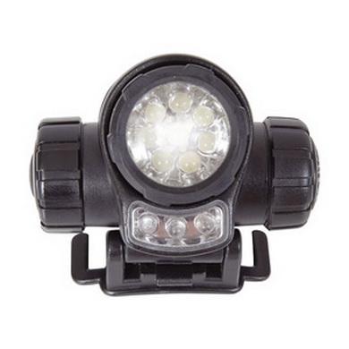 Svítilna èelová LED britská web-tex ÈERNÁ