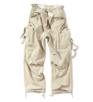 SURPLUS Kalhoty VINTAGE FATIGUE BEIGE