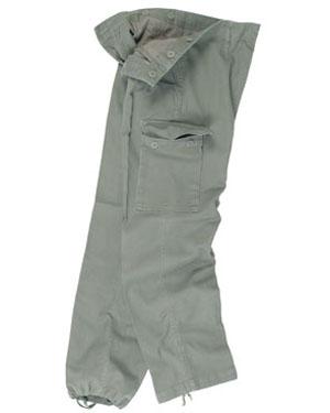 MIL-TEC Kalhoty BW typ moleskin předeprané OLIV