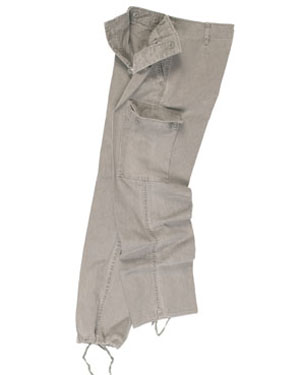 MIL-TEC Kalhoty BW typ moleskin předeprané ŠEDÉ